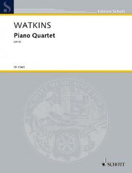 Quatuor avec Piano Huw Watkins Partition Quatuors - laflutedepan