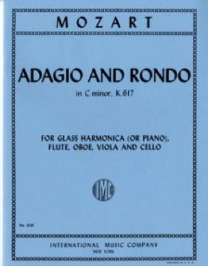 Adagio and Rondo KV 617 -Glass Harmonica flute oboe viola cello - laflutedepan.com