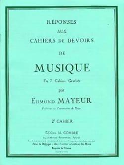 Edmond Mayeur - Answers to homework n ° 2 - Partition - di-arezzo.co.uk