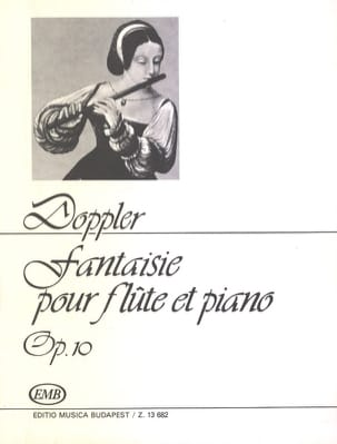 Fantaisie Airs valaques op. 10 Franz Doppler Partition laflutedepan