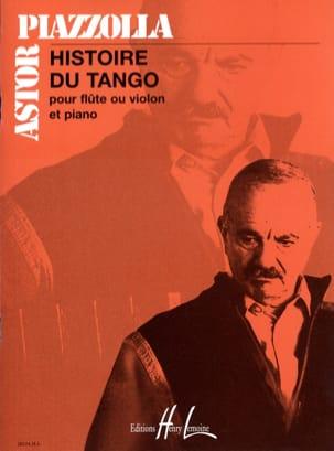 Histoire du Tango - Flûte ou violon et piano laflutedepan