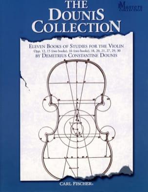 The Dounis Collection D. C. Dounis Partition Violon - laflutedepan