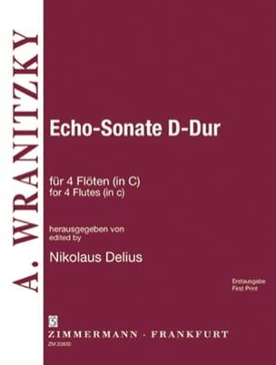 Echo-Sonate für 4 Flöten Paul Wranitzky Partition laflutedepan