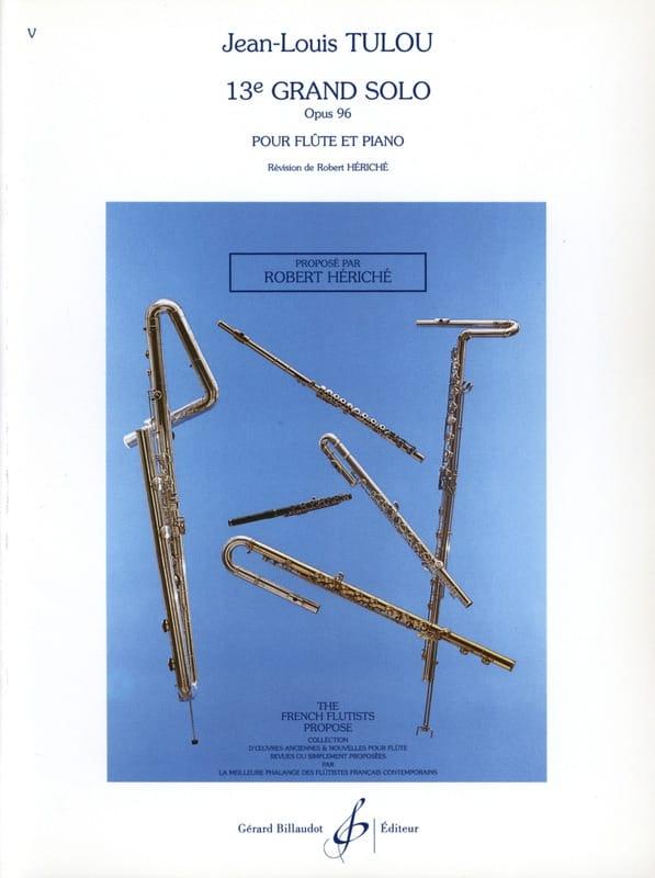13ème Grand solo op. 96 - Flûte piano - laflutedepan.com