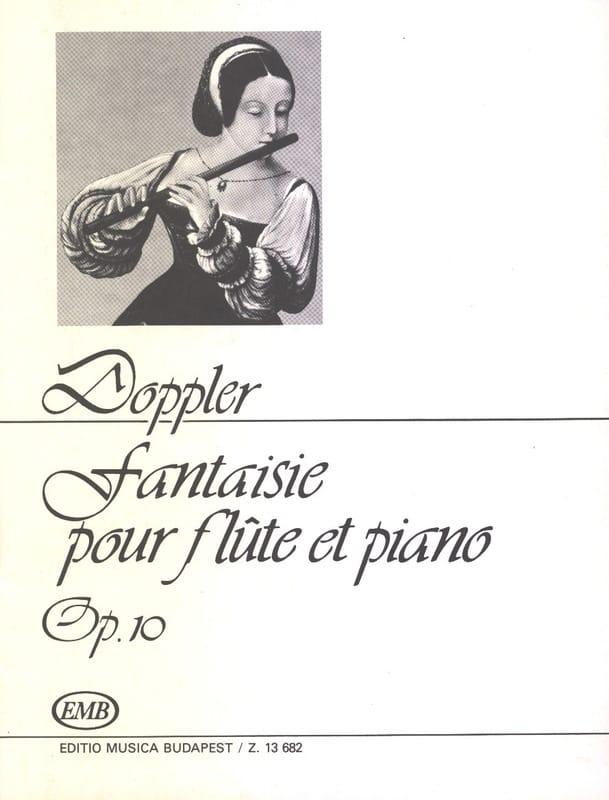 Fantaisie Airs valaques op. 10 - Franz Doppler - laflutedepan.com