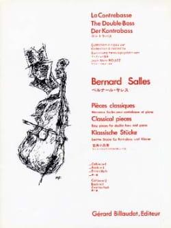 Pièces Classiques Volume 1A Bernard Salles Partition laflutedepan