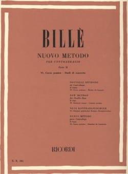 Nouvelle méthode de contrebasse, P. 2 / 6 Isaia Billè laflutedepan