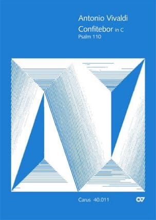 Confitebor in C-Dur Psalm 110 RV 596 - Partitur - laflutedepan.com