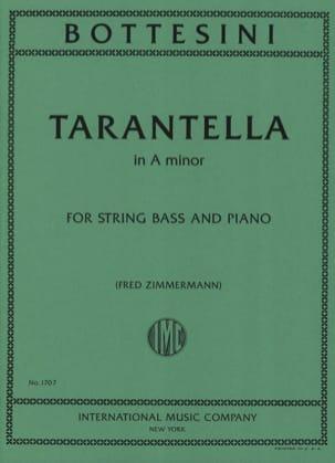 Tarantella in A minor BOTTESINI Partition Contrebasse - laflutedepan