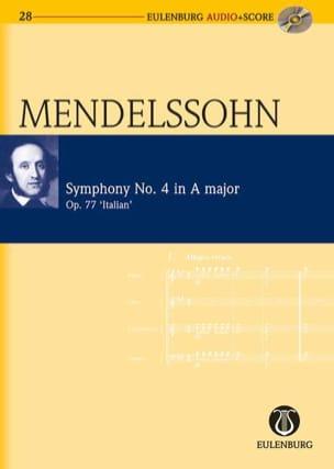 Symphonie Italienne N° 4 Op. 90 En la Majeur MENDELSSOHN laflutedepan
