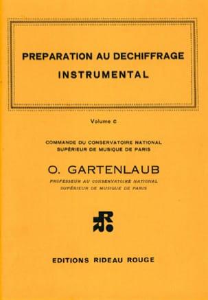 Préparation au Déchiffrage Volume C Odette Gartenlaub laflutedepan
