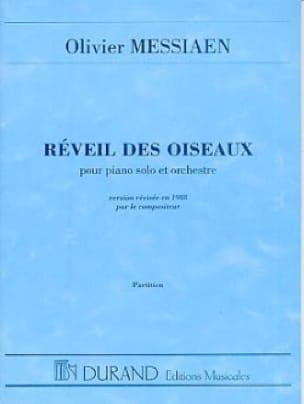 Réveil des Oiseaux - Conducteur - MESSIAEN - laflutedepan.com