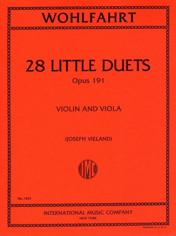 28 Little duets op.191 - Robert Wohlfahrt - laflutedepan.com