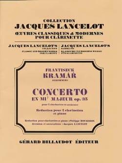 Concerto en Mib Majeur Op. 35 - KROMMER - Partition - laflutedepan.com
