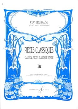 Pieces Classiques Vol 1B Bernard Salles Partition laflutedepan