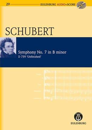 Symphonie Inachevée D.759 SCHUBERT Partition laflutedepan