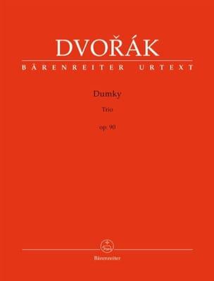 Trio Dumky, op. 90 DVORAK Partition Trios - laflutedepan