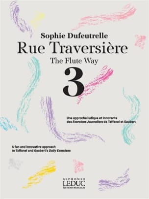 Rue Traversière - 3 Sophie Dufeutrelle Partition laflutedepan