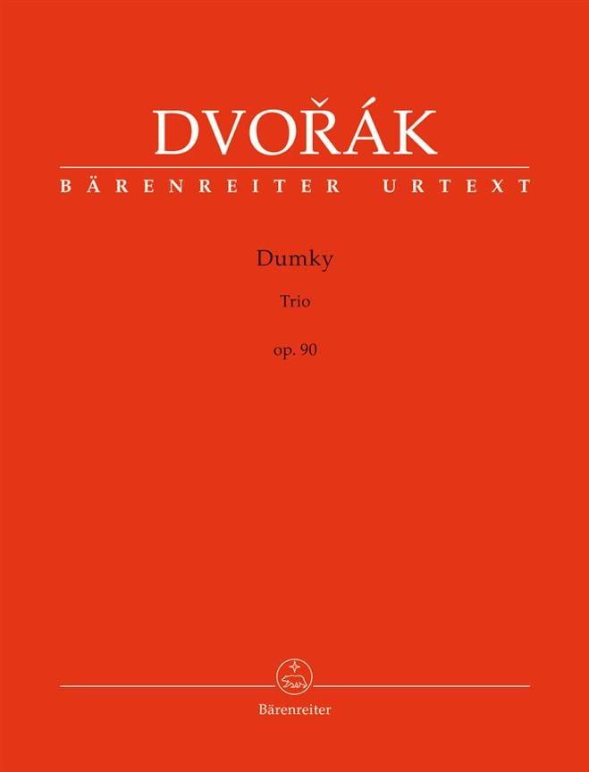 Trio Dumky, op. 90 - DVORAK - Partition - Trios - laflutedepan.com