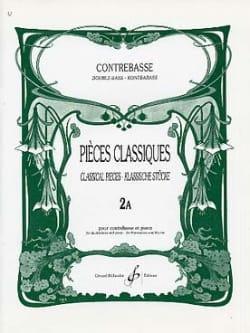 Pièces Classiques Volume 2A Bernard Salles Partition laflutedepan