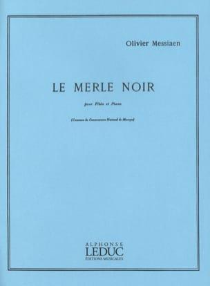 Le Merle Noir MESSIAEN Partition Flûte traversière - laflutedepan