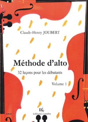 Méthode d'Alto Volume 1 Claude-Henry Joubert Partition laflutedepan