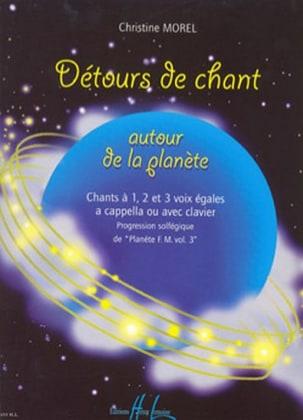 Détours de chant Christine Morel Partition Solfèges - laflutedepan
