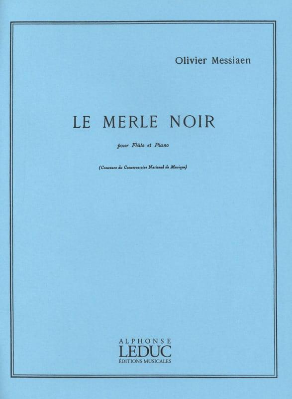 Le Merle Noir - MESSIAEN - Partition - laflutedepan.com