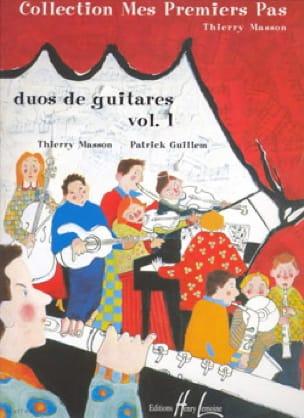 Duos de guitares - Volume 1 - laflutedepan.com