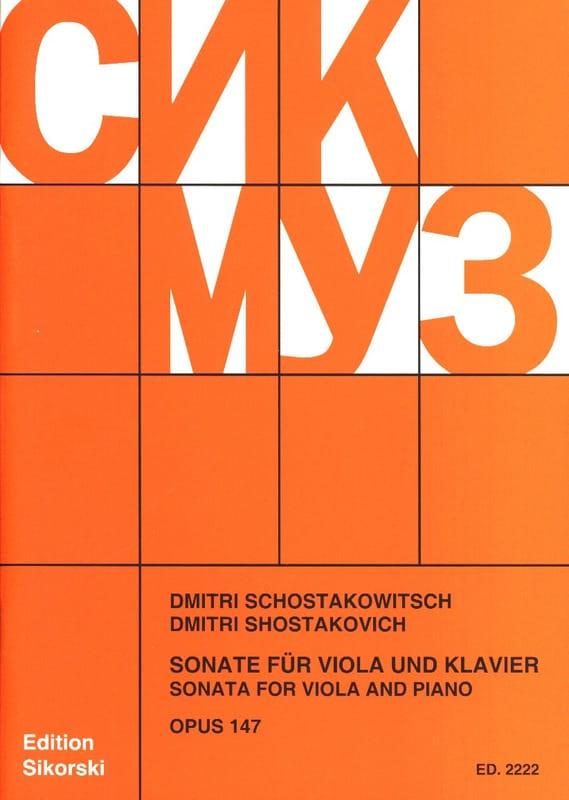 Sonate für Viola und Klavier, op. 147 - laflutedepan.com