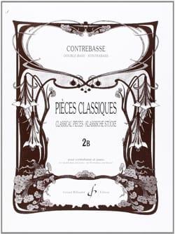 Pieces classiques, vol 2B - Contrebasse Bernard Salles laflutedepan