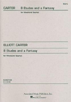 8 Etudes and a Fantasy -Woodwind quartet Elliott Carter laflutedepan