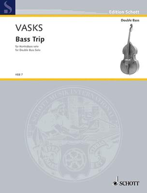 Bass Trip Peteris Vasks Partition Contrebasse - laflutedepan