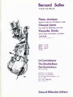 Pieces Classiques Vol. 3A Bernard Salles Partition laflutedepan