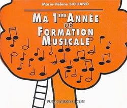 CD / Ma 1ère année de formation musicale SICILIANO laflutedepan
