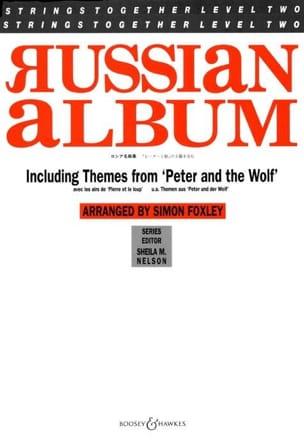 Russian Album - Musique De Chambre Partition laflutedepan