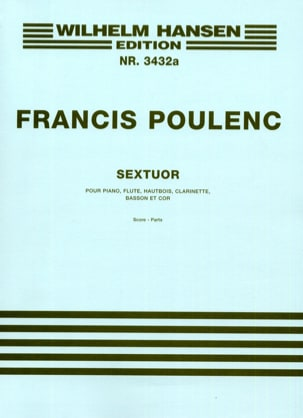 Sextuor - Parts POULENC Partition Sextuors - laflutedepan