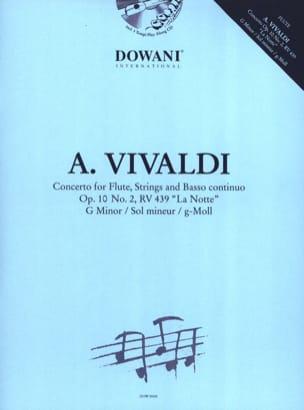 Concerto Flûte-Cordes et Bc Op.10 N° 2 - Rv. 439 VIVALDI laflutedepan