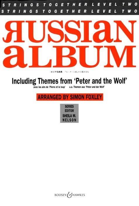 Russian Album - Musique De Chambre - Partition - laflutedepan.com
