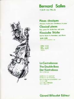 Pièces classiques, vol 3b - Contrebasse Bernard Salles laflutedepan