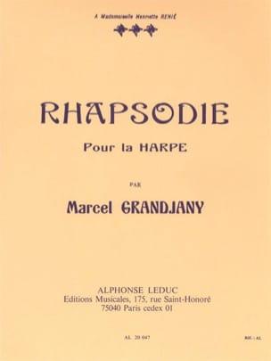 Rhapsodie Marcel Grandjany Partition Harpe - laflutedepan