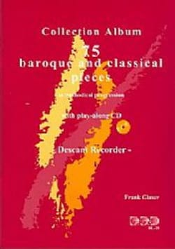 75 Baroque and Classical Pieces with CD - laflutedepan.com