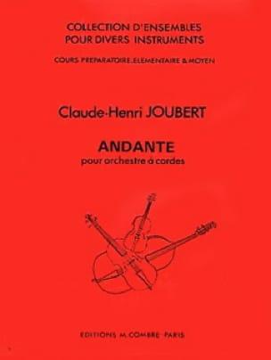 Andante - Orchestre A Cordes - A Partir De Prepa. - laflutedepan.com