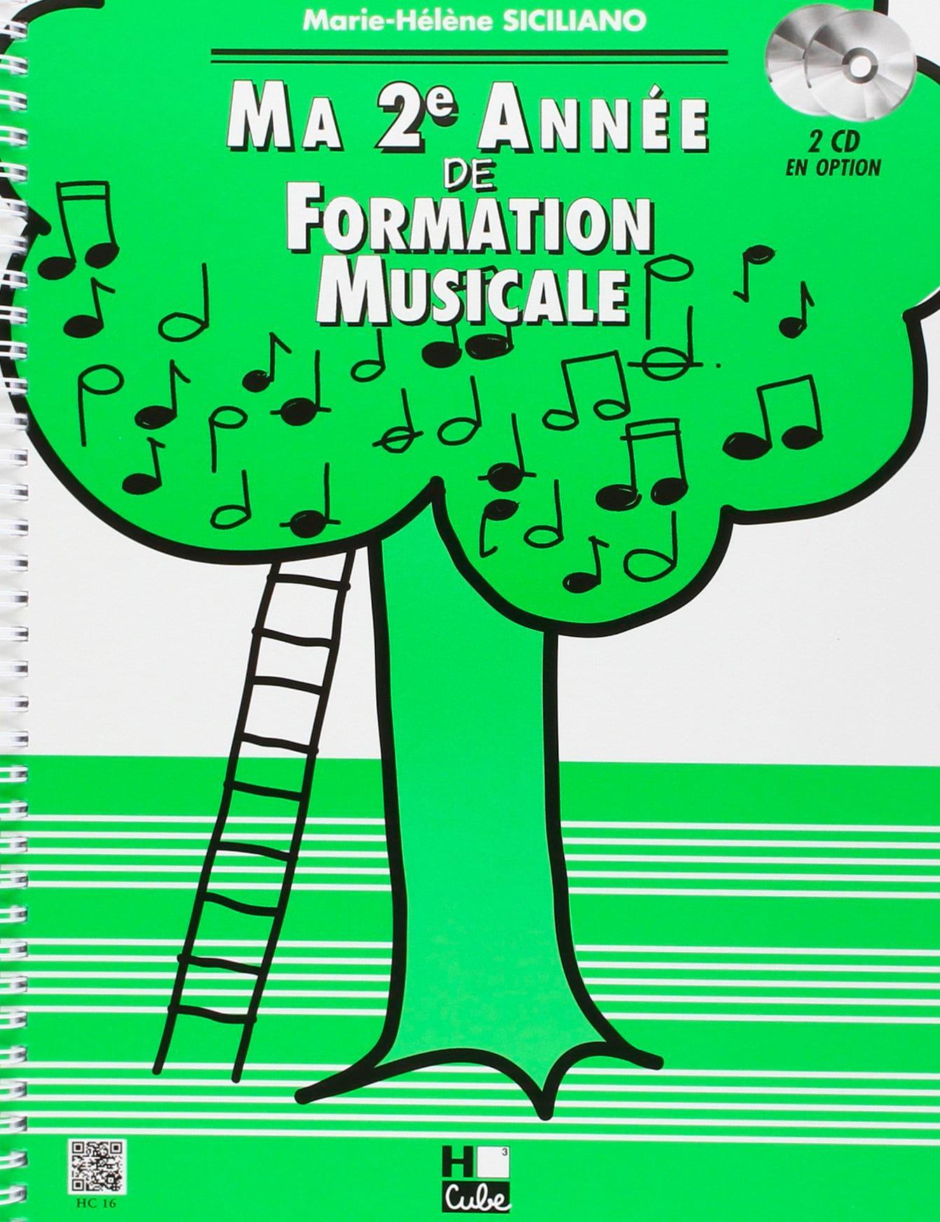 Ma 2ème année de Formation Musicale - SICILIANO - laflutedepan.com