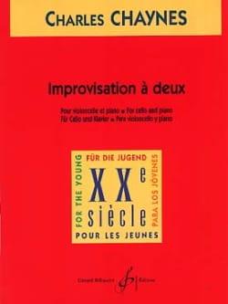 Improvisation à deux Charles Chaynes Partition laflutedepan