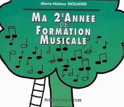 CD / Ma 2ème année de formation musicale SICILIANO laflutedepan