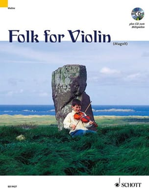 Folk for Violin Magolt Marianne / Magolt Hans Partition laflutedepan