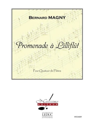 Promenade à Lilliflut - Bernard Magny - Partition - laflutedepan.com