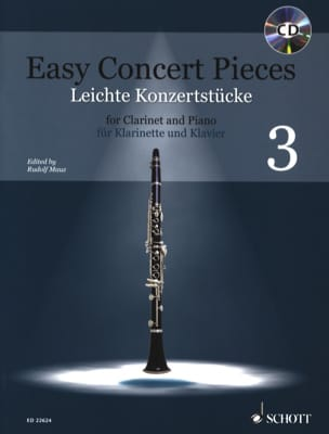 Easy Concert Pieces - Vol. 3 Partition Clarinette - laflutedepan