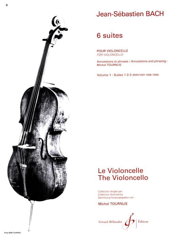 6 Suites Volume 1 - Suites 1 à 3 - BACH - Partition - laflutedepan.com